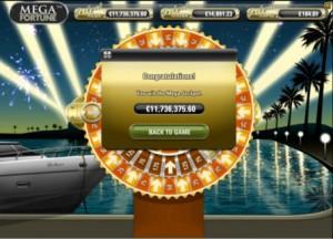 Verdens største progressive jackpot vunnet av en norsk spiller på Mega Fortune