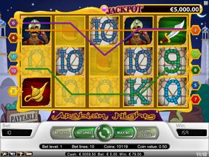 Arabian Nights - spilleautomat fra NetEnt