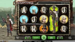 Steamtower - videospilleautomat